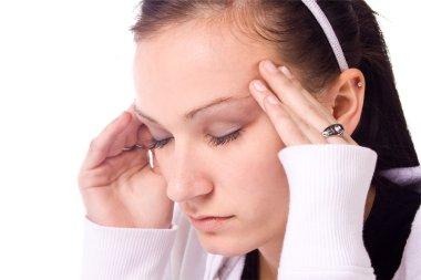 Teenager with a Headache