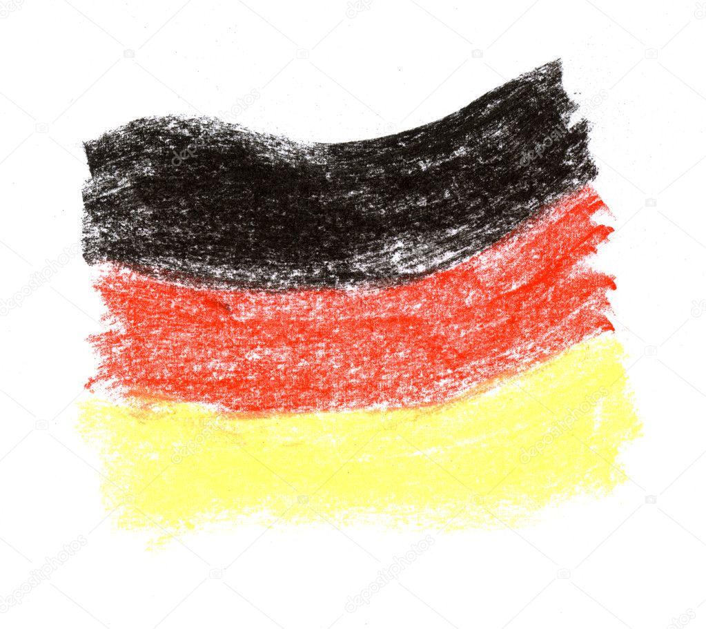 german flag u2014 stock photo derausdo 2612220