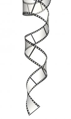 Vertical ribbon of the film