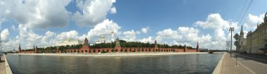 Moscow, panorama of the Kremlin