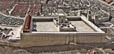 Model of Jerusalem Temple