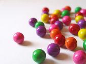 rozptýlené barevná guma