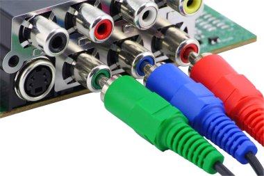 RGB video connectors