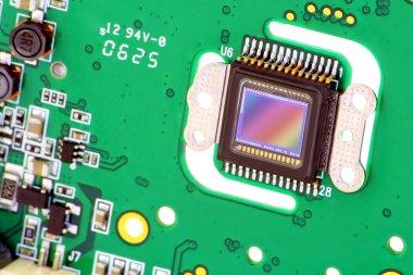 RGB CMOS sensor from camera