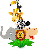 Fotografie Funny animal cartoon