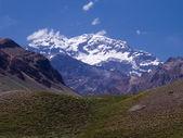 The aconcagua mountain