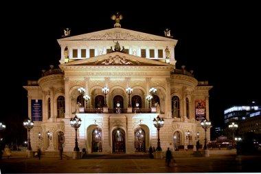 Opera House in Frankfurt, Germany