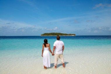 Wedding on a island