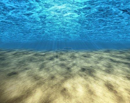 Foto de Fondo del mar. Fondo, fondos de pantalla, la base para una imagen - Imagen libre de derechos