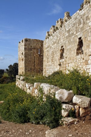 Antipatris Fortress ruins