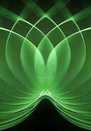 Loops green fractal