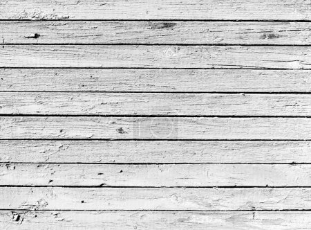 Dried black and white wooden plank