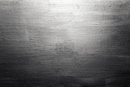 Photo pour Fond industriel de texture métallique brossée grunge. Image détaillée haute - image libre de droit
