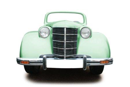 Sepia vintage car