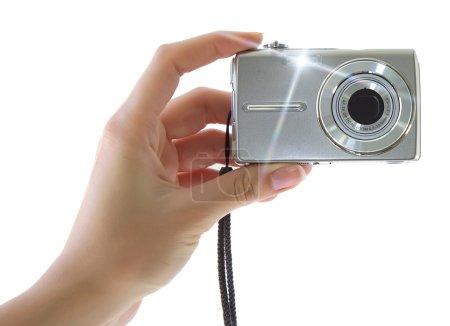 Photo pour Appareil photo numérique compact - image libre de droit