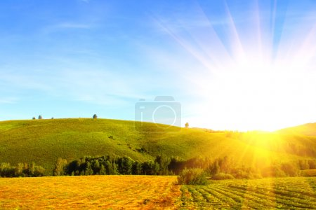 Photo for Sunrise from the hills - Royalty Free Image