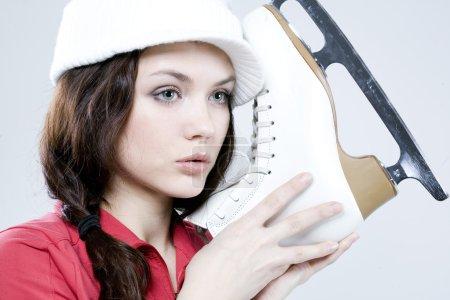 Ice-skater girl