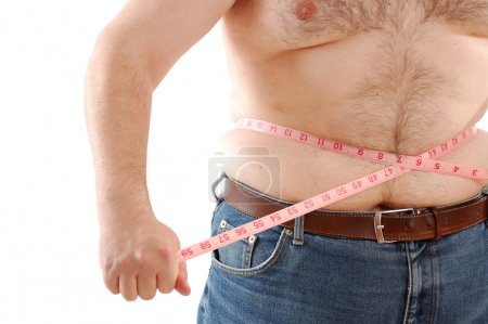 Measuring bg abdomen