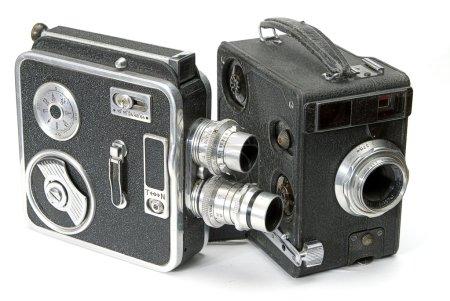 Foto de Aislado dos cámaras de mano retro - Imagen libre de derechos