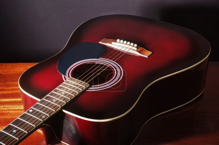 Acoustic classical guitar