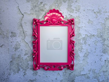 Frame on the wall