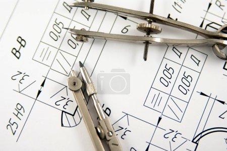 Zeichenkompass
