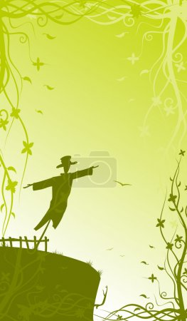 Romantic scarecrow