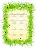 Vector spring 2010 calendar