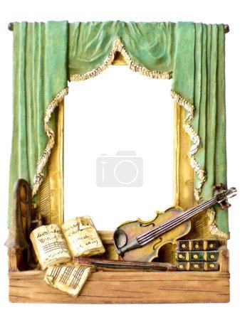Photo frames music