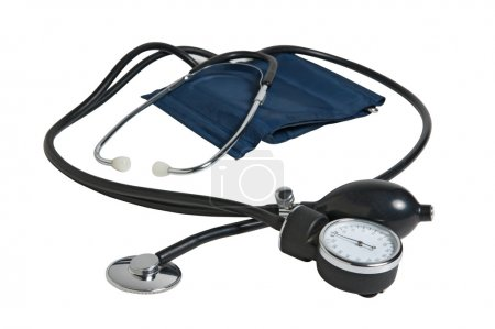 Device measuring blood pressure