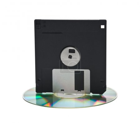 CD and floppy disk