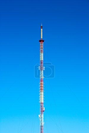 Photo pour Antenne sur un ciel - image libre de droit
