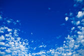 ciel de beauté bleu