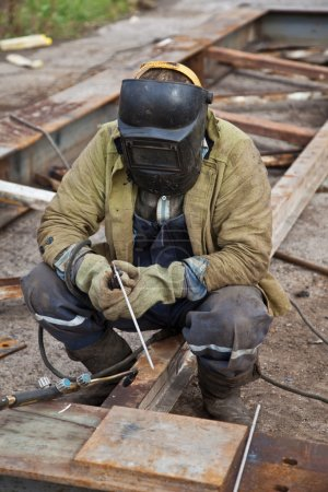 Photo for Worker welder - Royalty Free Image