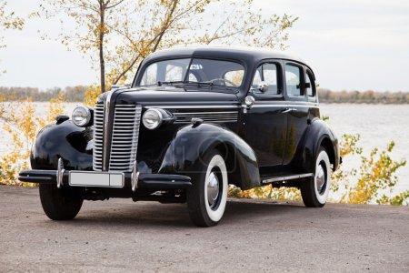 Старый автомобиль Бьюик специальные