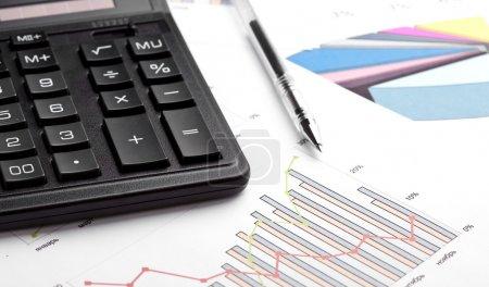 Photo pour Calcul des finances - image libre de droit