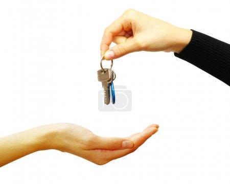Key in hands