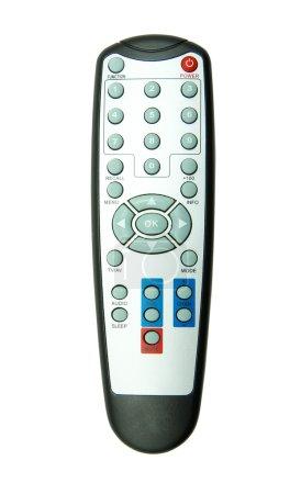 Photo pour Télécommande tv isolé sur fond blanc - image libre de droit