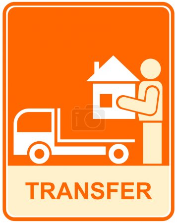 Conveyance, transfer - sign