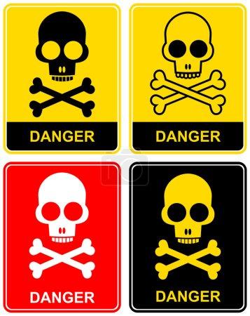 Skull - danger sign
