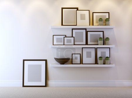 Photo for A modern 3d interior composition - Royalty Free Image