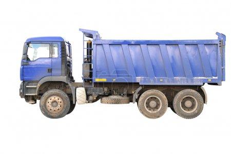 Dump-body truck
