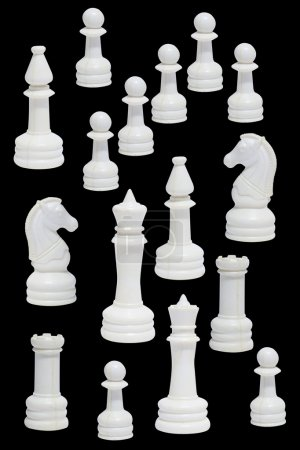 Complete of the white chessmen