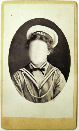 Vintage photo une fille