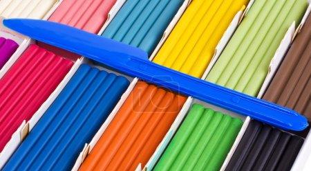 Color plasticine set