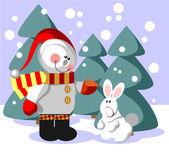 Snowman color 06