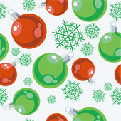 Seamless xmas ball ornament in color77