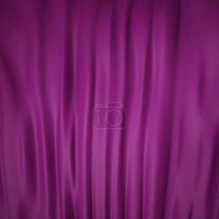 Photo pour Flux liquide lisse fond violet - image libre de droit