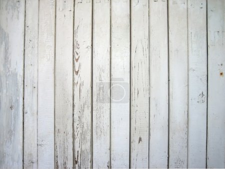 White painted wooden wall