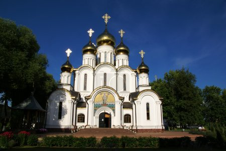 Orthodox church in nunnery